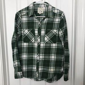 LA Hearts Green / White Flannel - Great condition!